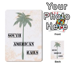 South America Cards By James Barnes   Multi Purpose Cards (rectangle)   E2rajwb6tdxf   Www Artscow Com Back 42
