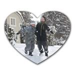 min gratis-musmatta :) - Heart Mousepad