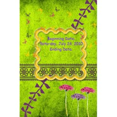 Burke Family Reunion Journal By Anna Marie   5 5  X 8 5  Notebook   Uyoln7uycpbd   Www Artscow Com Back Cover Inside