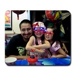 Luis & Girls @ Chucke mouse pad - Large Mousepad