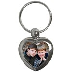 Ethan and Jacob heart keychain - Key Chain (Heart)