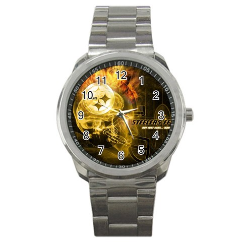 Tjs Birthday Present  By Renee Brayden   Sport Metal Watch   Zzpn3jd8a59m   Www Artscow Com Front