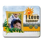 summer day - Large Mousepad
