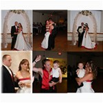 8 x 10 COLLAGE WEDDING PICTURE - Collage 8  x 10