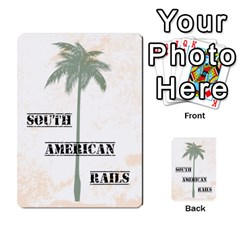 South America Cards 3tc By James Barnes   Multi Purpose Cards (rectangle)   T8o6sw6dda85   Www Artscow Com Back 1