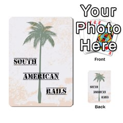South America Cards 3tc By James Barnes   Multi Purpose Cards (rectangle)   T8o6sw6dda85   Www Artscow Com Back 12