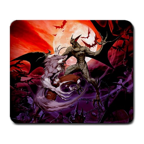 Mousepad By Akumasephitaro   Large Mousepad   Dgmvnbgffm4a   Www Artscow Com Front