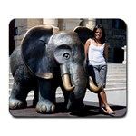 Mousepad Elephant Souri - Collage Mousepad