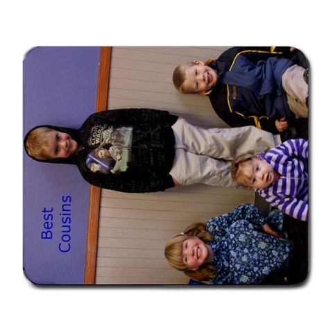 The Grandkids By Marybeth Lynn   Large Mousepad   Iscemomp8zga   Www Artscow Com Front