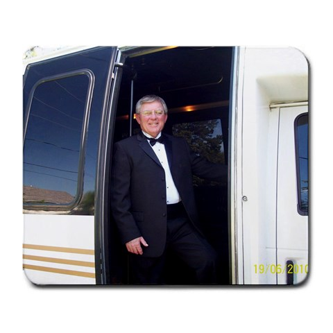 Gary And Limo By Chris Adams   Large Mousepad   Mvjatsyy4l5m   Www Artscow Com Front