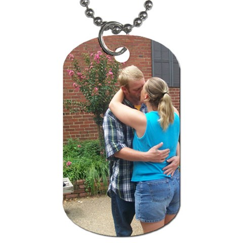 Dog Tags By Tonya Smith   Dog Tag (one Side)   9vjyj5yw9611   Www Artscow Com Front