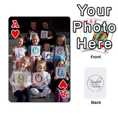 Ace Hall Cards By Heather   Playing Cards 54 Designs   93yr5uefcern   Www Artscow Com Front - HeartA