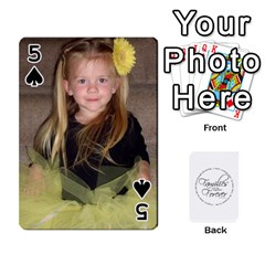 Hall Cards By Heather   Playing Cards 54 Designs   93yr5uefcern   Www Artscow Com Front - Spade5