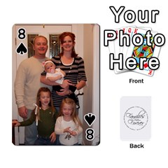 Hall Cards By Heather   Playing Cards 54 Designs   93yr5uefcern   Www Artscow Com Front - Spade8