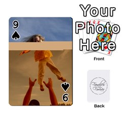 Hall Cards By Heather   Playing Cards 54 Designs   93yr5uefcern   Www Artscow Com Front - Spade9
