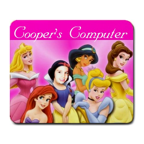 Mousepad For Cooper :) By Erin   Large Mousepad   Ai9rdb66wqf1   Www Artscow Com Front