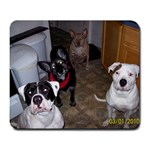 My Fur-babies - Large Mousepad