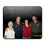 Me & Mom at Carrie Underwood Concert - Large Mousepad
