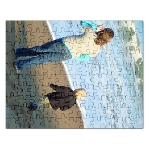Brooke And Jeffrey By Jayme   Jigsaw Puzzle (rectangular)   Cza2gfrcsiu6   Www Artscow Com Front