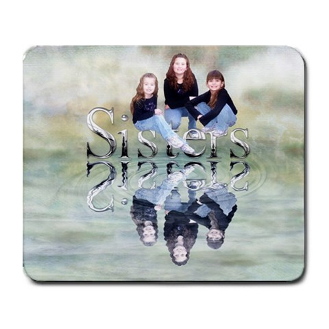 Sisters Mousepad By Bonna Kelley   Collage Mousepad   7xex4xepjmho   Www Artscow Com 9.25 x7.75 Mousepad - 1
