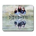 sisters mousepad - Collage Mousepad