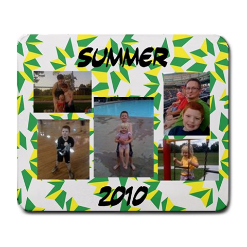 Summer 2010 By Rebecca Dula   Collage Mousepad   Ohxyisqoee3x   Www Artscow Com 9.25 x7.75 Mousepad - 1