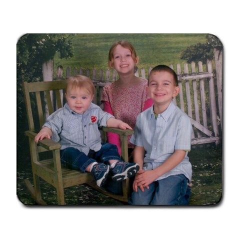 3 of my grandkids mousepad by Sherry McGee Front