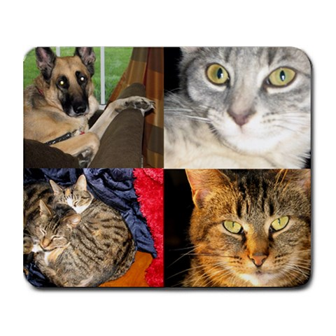 Poling Animals By Lori   Collage Mousepad   Kb6oqtx33xwg   Www Artscow Com 9.25 x7.75 Mousepad - 1