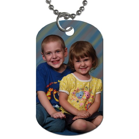 By Maranda Jones   Dog Tag (one Side)   K3wrrx2153ro   Www Artscow Com Front