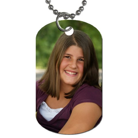 Dog Tag For Alexa By Stacey Stahl   Dog Tag (one Side)   Lfofvpd3i82m   Www Artscow Com Front