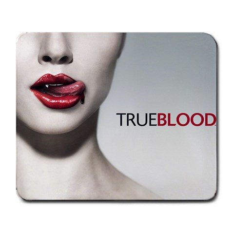 True Blood Mousepad By Sarah   Large Mousepad   Znw09semljnt   Www Artscow Com Front