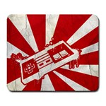 rising sun - Large Mousepad