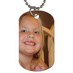 Jenna Dog Tag By Christi Tatman   Dog Tag (two Sides)   Fdilr7r6qojr   Www Artscow Com Front