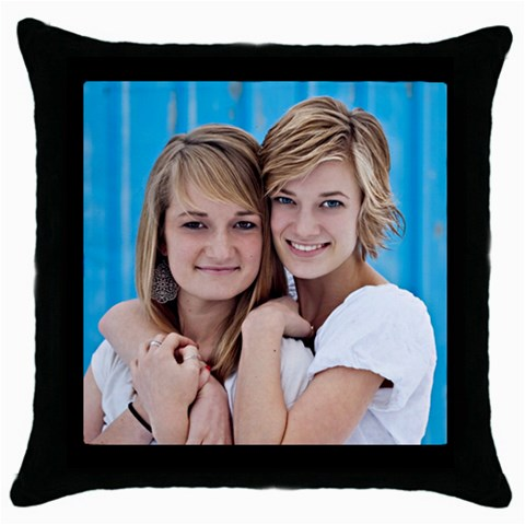 Pillow Case By Bethanne Myers   Throw Pillow Case (black)   Gl6q1uaq0n4t   Www Artscow Com Front