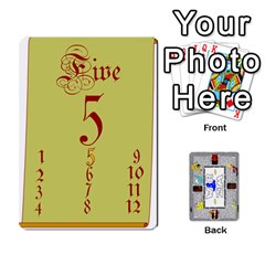 Amwizwar1 By Andy Miller   Playing Cards 54 Designs   Zgzy5fizqn6h   Www Artscow Com Front - Heart6