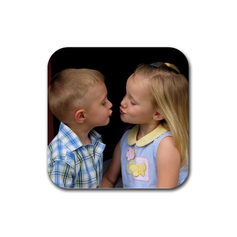Kids Coaster By Faith Hale   Rubber Coaster (square)   Od2zgcmc92so   Www Artscow Com Front