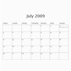2009 By Kathryn Holderman   Wall Calendar 11  X 8 5  (12 Months)   Xnjceo9z1pfj   Www Artscow Com Jul 2009