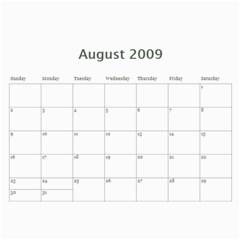2009 By Kathryn Holderman   Wall Calendar 11  X 8 5  (12 Months)   Xnjceo9z1pfj   Www Artscow Com Aug 2009