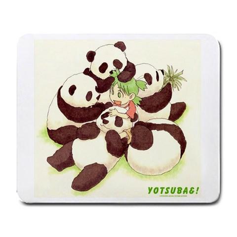 Panda Mafia! By Amy Wei Hua Zhang   Large Mousepad   Yq132f40gz3r   Www Artscow Com Front
