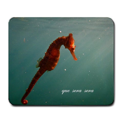 Seahorse By Kristen Marie Brierley   Large Mousepad   S1z9dvd3kdhy   Www Artscow Com Front