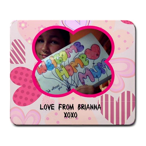 Mousepad By Brianna Pidgeon   Large Mousepad   Ecn3iw20o5qn   Www Artscow Com Front
