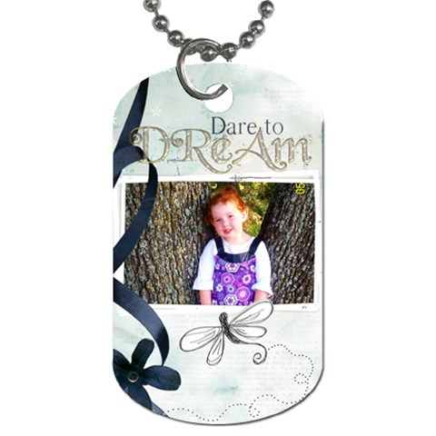Kiras Tag By Noheya   Dog Tag (one Side)   534qbb86gfbi   Www Artscow Com Front