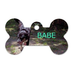 Babe By Barbara Oechsner   Dog Tag Bone (two Sides)   4ytyi4q1zgqw   Www Artscow Com Back