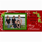 CHRISTMAS 2010 - 4  x 8  Photo Cards