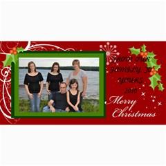 Christmas 2010 By Krista Clarke True   4  X 8  Photo Cards   Mbdsaabkgqym   Www Artscow Com 8 x4 Photo Card - 2