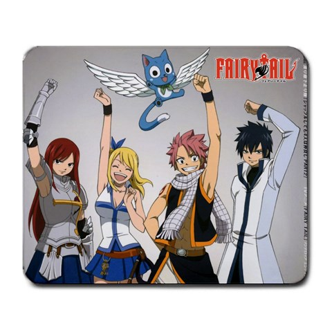 Fairytail By Calvin Lu   Large Mousepad   Bzwz7mxkw5nd   Www Artscow Com Front
