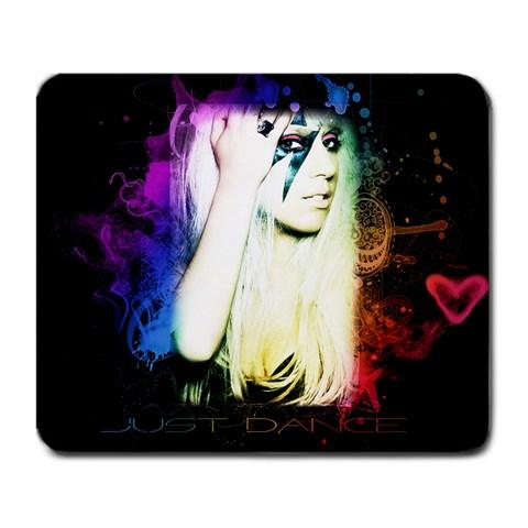 Lady Gaga Mousepad By Eddie Nguyen   Large Mousepad   Mxbyluha9xt1   Www Artscow Com Front
