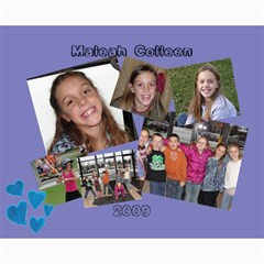 Gavin And Maleah Collage By Rani   Collage 8  X 10    Rvdh9hte8lkd   Www Artscow Com 10 x8 Print - 1