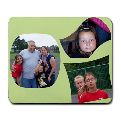 My Fam By Mike Pandola   Collage Mousepad   Buhcz6hm4aj2   Www Artscow Com 9.25 x7.75 Mousepad - 1