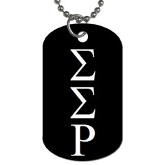 Dog Tag By Puja   Dog Tag (two Sides)   Ayqfnqizpftc   Www Artscow Com Front